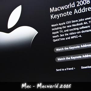 Podcast Mac Macworld 2008