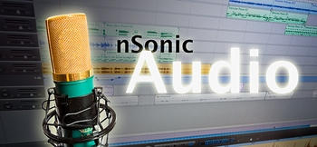 Audio Banner klein