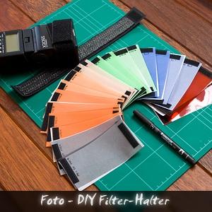 Podcast Foto DIY Filterhalter strobist