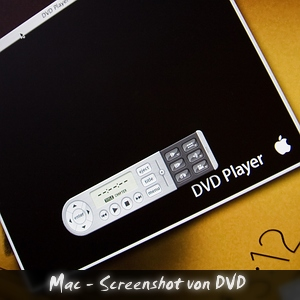 Podcast Mac Screenshot von DVD
