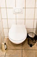 Toilette geschlossen