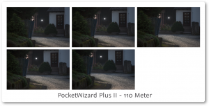 PocketWizard PlusII Review 110 meter