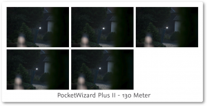 PocketWizard PlusII Review 130 meter