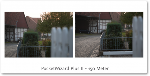 PocketWizard PlusII Review 150 meter übersicht