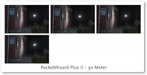 PocketWizard PlusII Review 30 meter