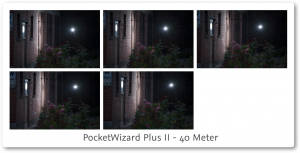 PocketWizard PlusII Review 40 meter