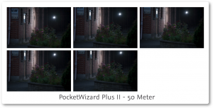 PocketWizard PlusII Review 50 meter