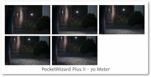 PocketWizard PlusII Review 70 meter