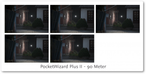 PocketWizard PlusII Review 90 meter