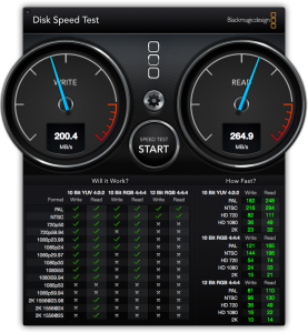 Geschwindkeit der Samsung 840 SSD im MacBook Pro, Late 2008