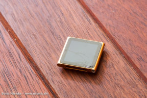 iPod Nano mit kaputtem Display