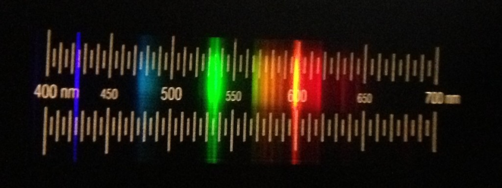 Spektrum Kompaktleuchtstoffröhre mit 3-Banden-Leuchtstoff