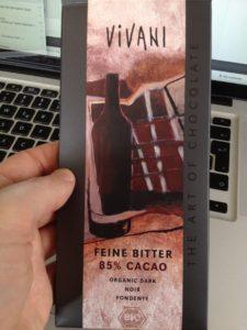 Vivani 85% Schokolade