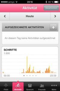 fitbit-app-aktivitäten