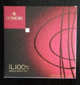 Domori Schokolade 100%