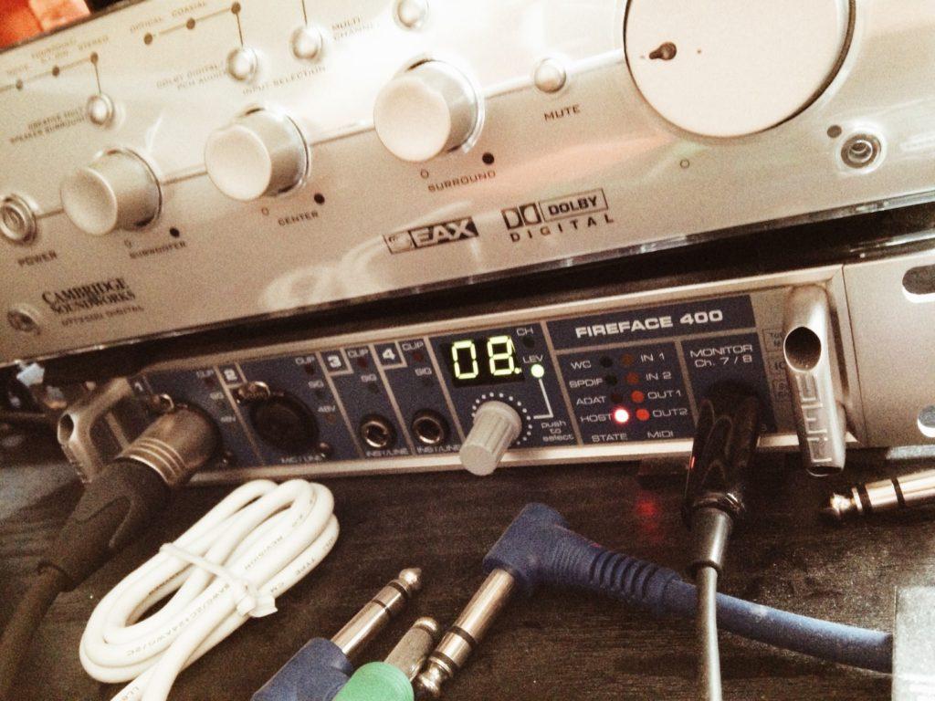 fireface400 - soundworks verstärker
