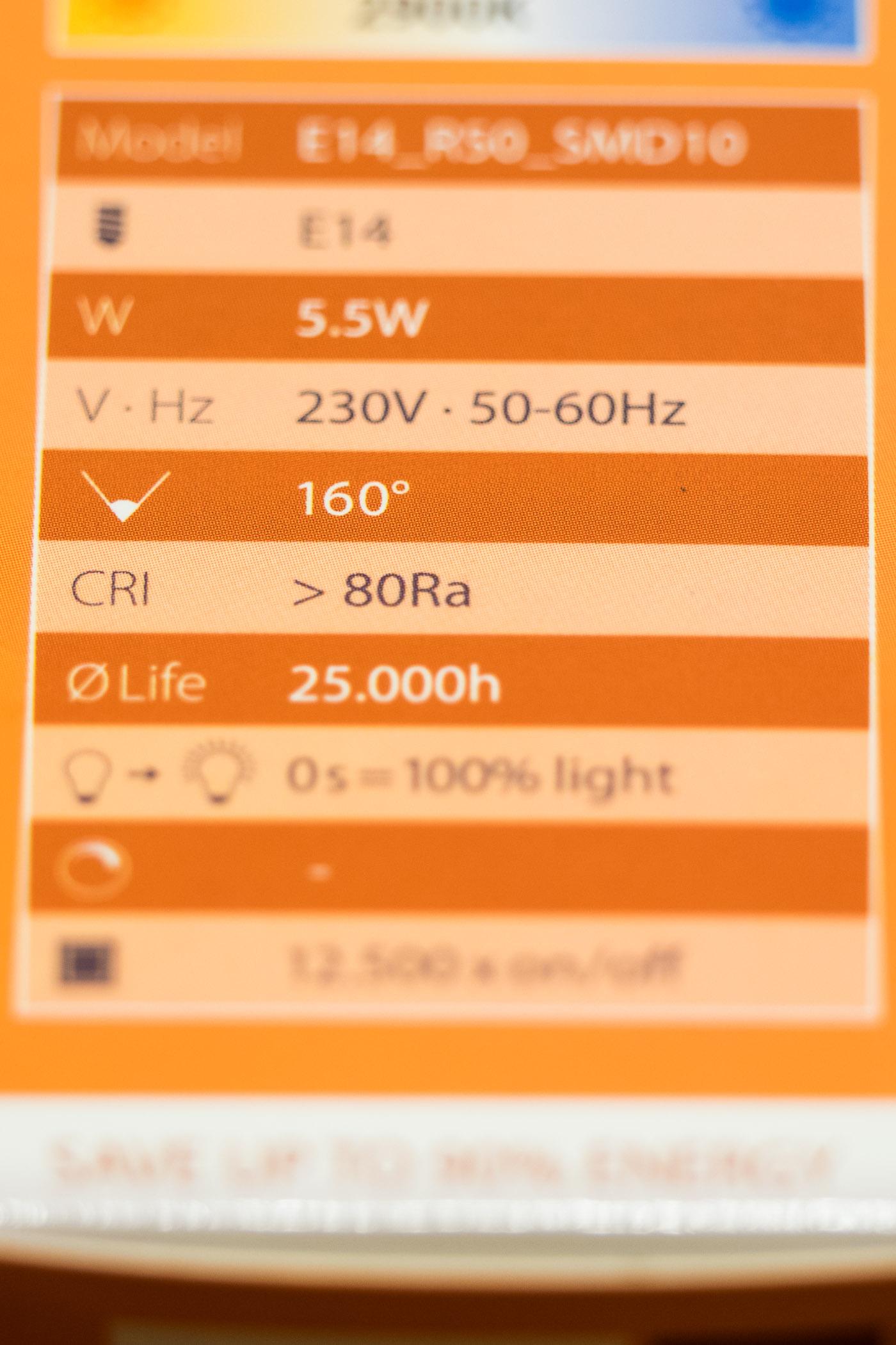 Endlich LED ins Büro – R50-Strahler – Raus mit den CFL – nSonic