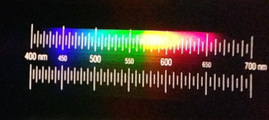 Spektrum einer Sebson LED