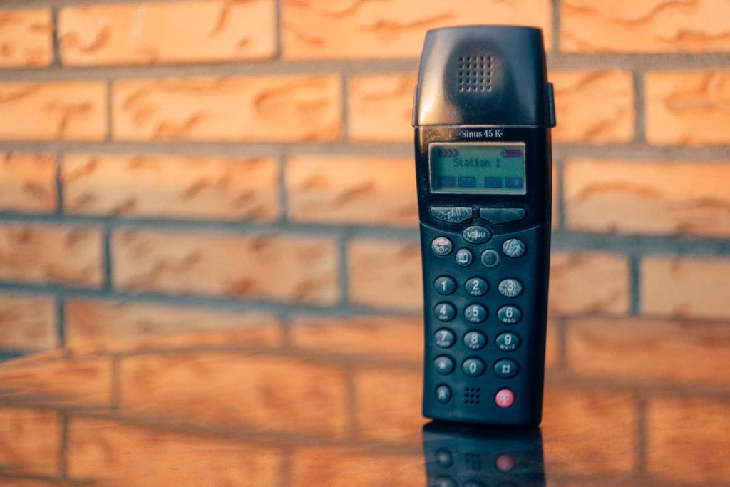 Sinus 45 - DECT-Telefon der Telekom, dass mich seit sehr vielen Jahren begleitet