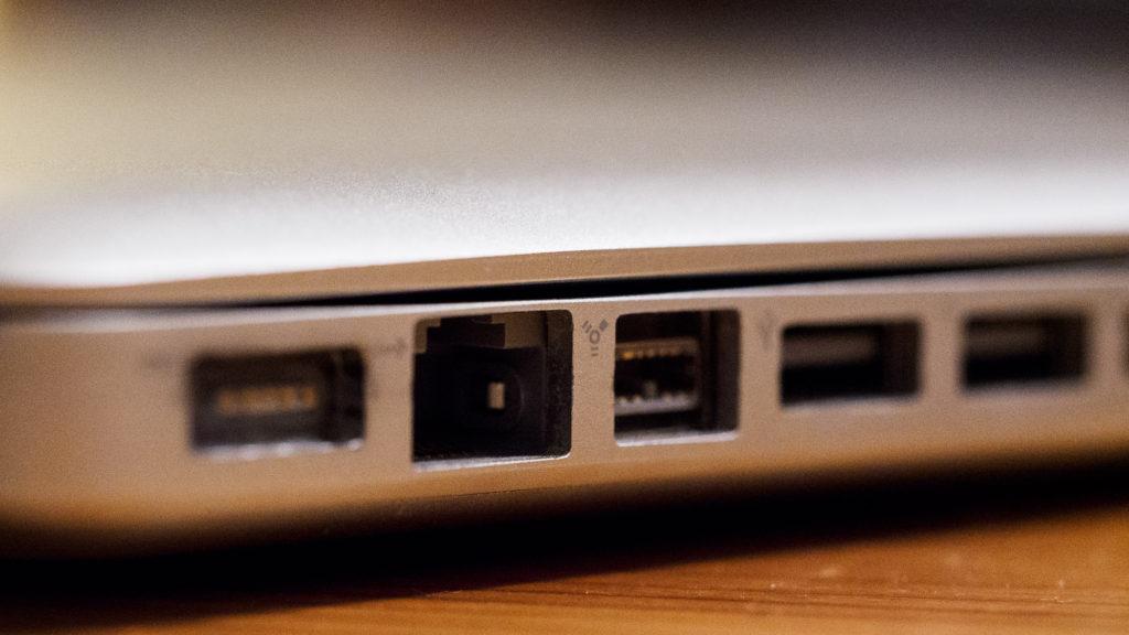"MacBook Pro 15"" 2009 – Ethernet-Anschluss"
