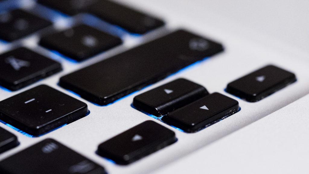 """MacBook Pro 15"""" 2009 – Cursor-Tasten als umgekehrtes T angeordnet"""