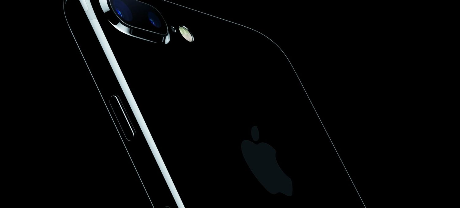 iPhone7Plus JetBlack, Bild: Apple